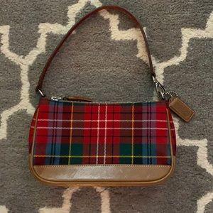 Coach Plaid handbag